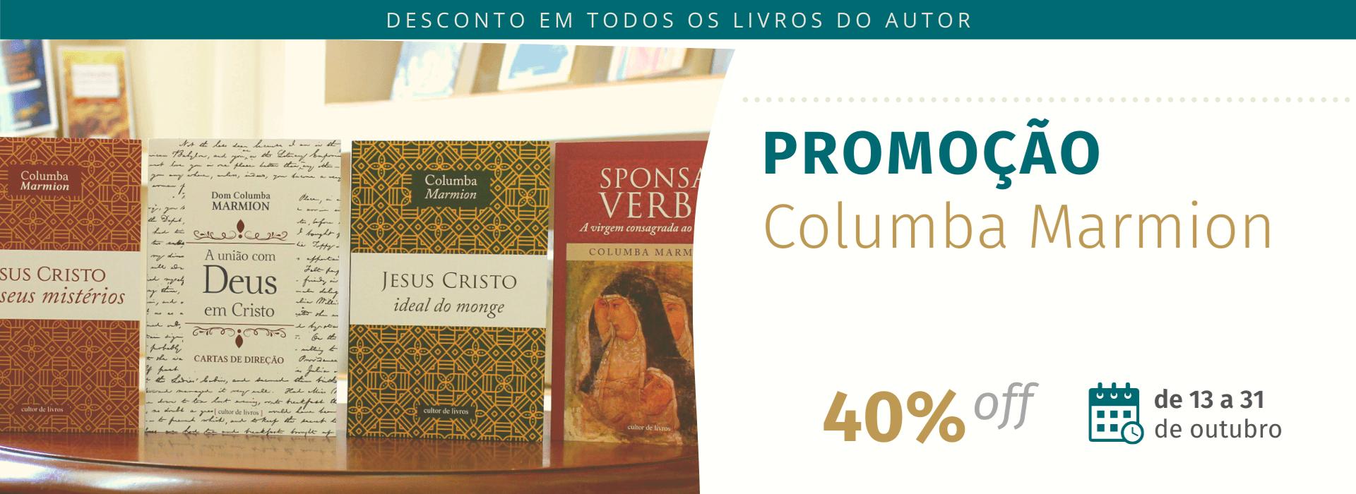Promoção Columba Marmion