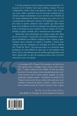 A Igreja de Jesus Cristo - Eclesiologia hoje