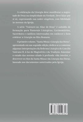 Entrarei no altar de Deus (vol1) - Santa Missa e Liturgia das Horas